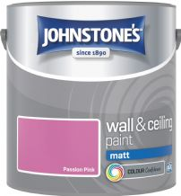 Johnstones Passion Pink Coloured Emulsion